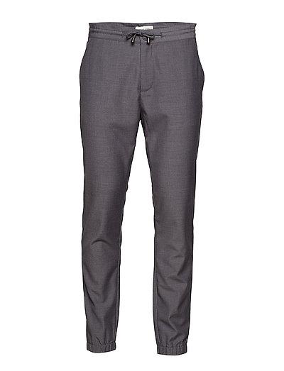Pants Slim fit - PEWTER MIX