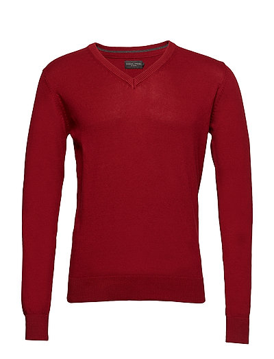 Pullover Basic knit pullover - AUTUMN RED