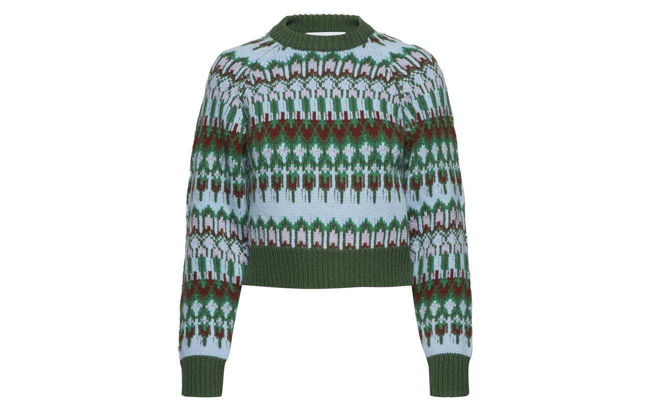 Bonfire Mérino 20 Creme Sweater Island Hammel Geelong 80 Cropped Polyamide Laine Cathrine qwXEzX