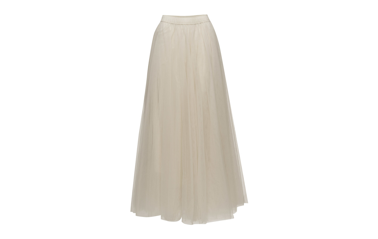 Hammel Long Cathrine 100 Coton Skirt Classic Doublure Tulle Intérieure Black qAHwdH5