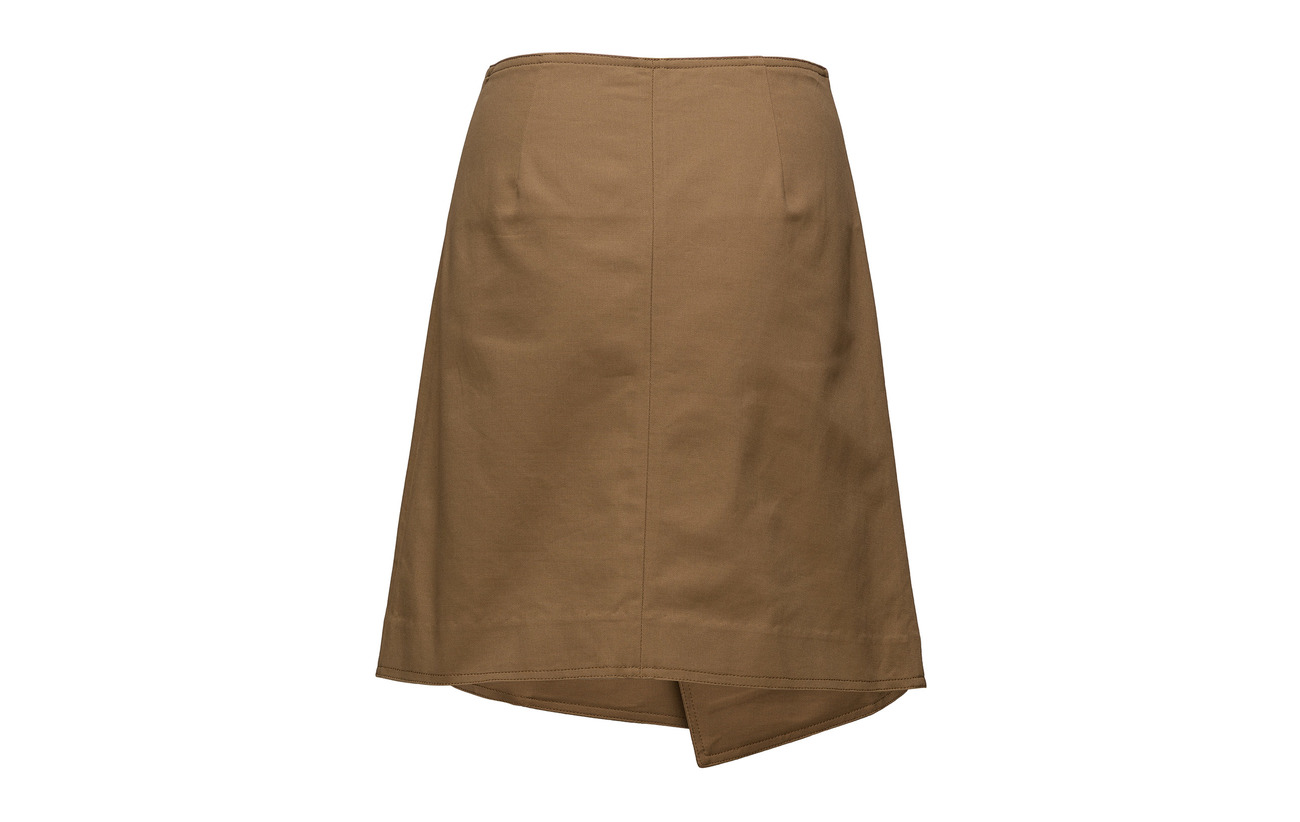 Cathrine 100 Short Skirt Wrap Cottontwill Hammel Khaki OwOqvPrFA