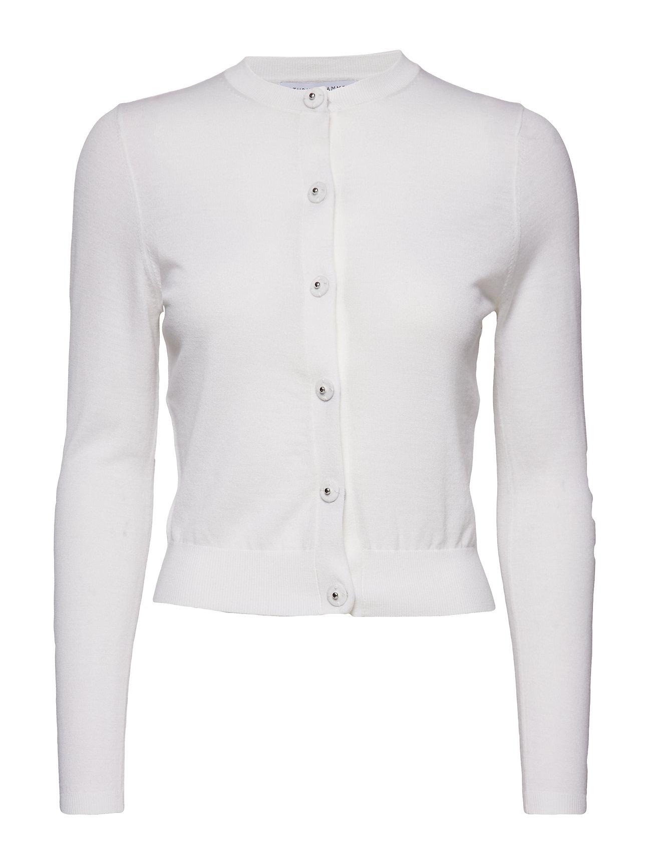 Cathrine Hammel Fine petit cardigan - OFF WHITE