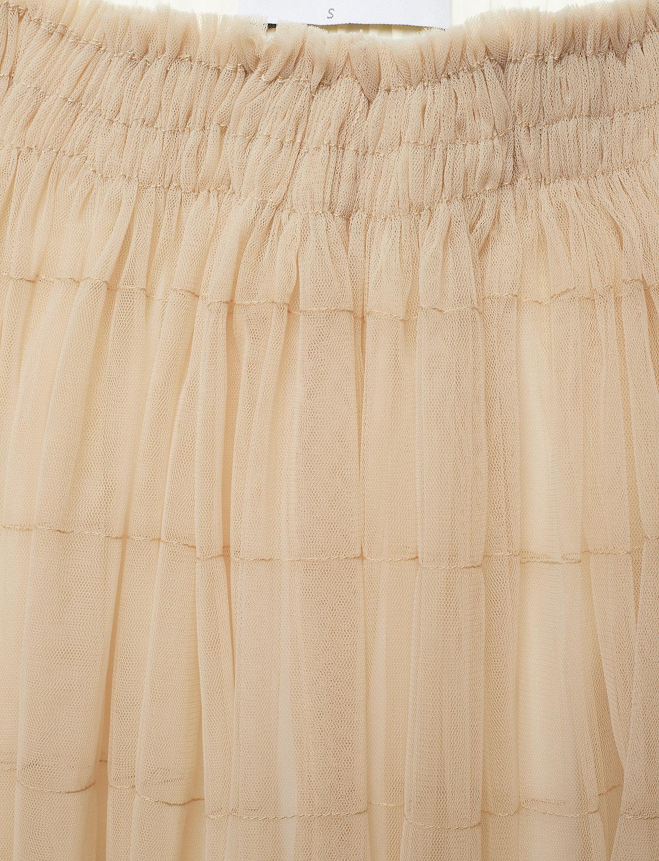 Cathrine Hammel Midi tulle skirt - Spódnice OATMEAL - Kobiety Odzież.