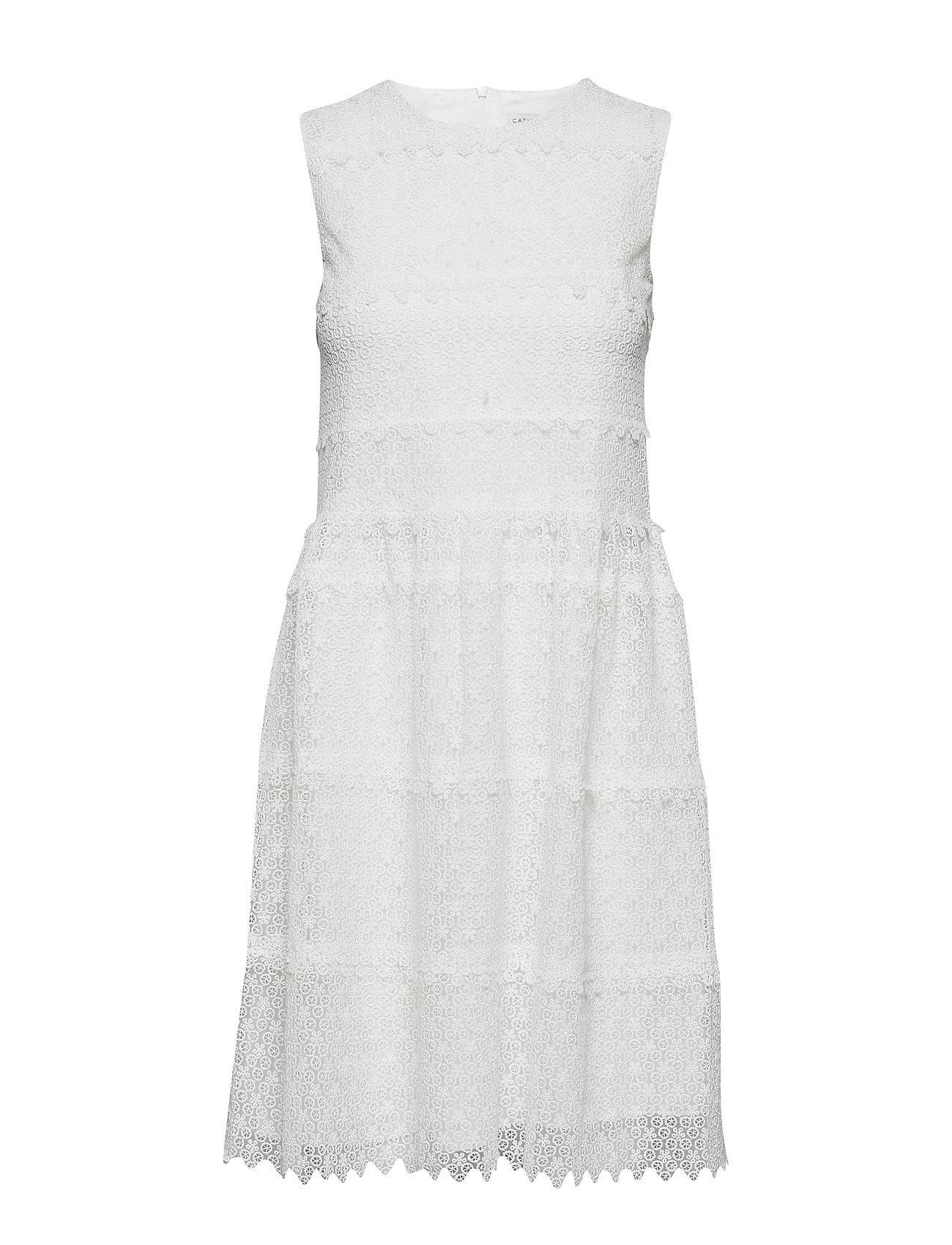 Cathrine Hammel Coquette dress - OFF WHITE