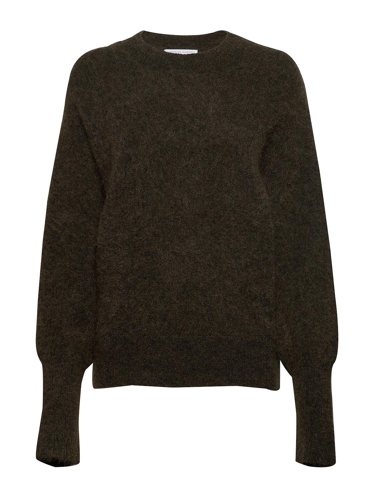 Sweaterdark Soft MelangeCathrine Hammel Rounded Olive CrQBedoxW