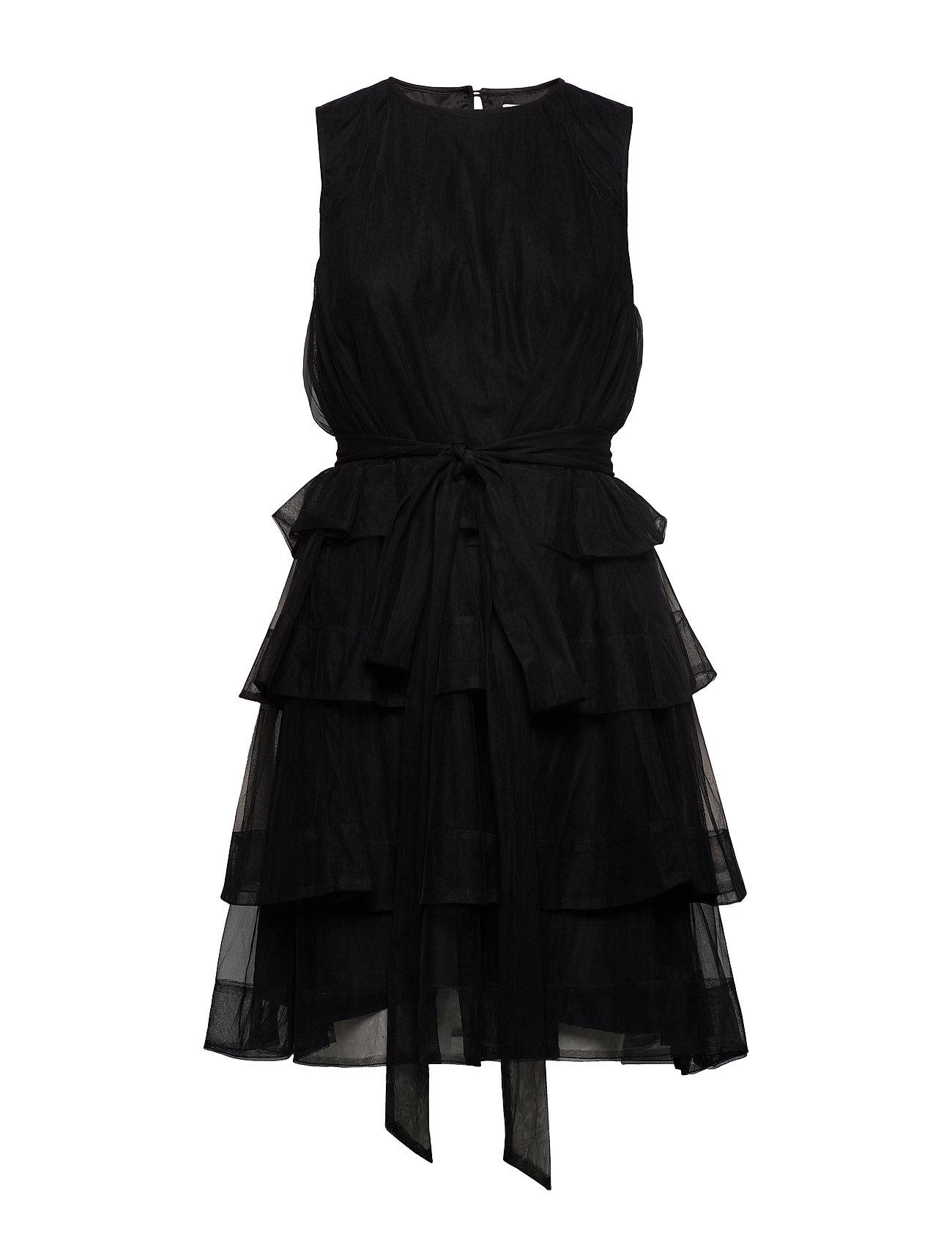 Cathrine Hammel Multiple layers dress - BLACK