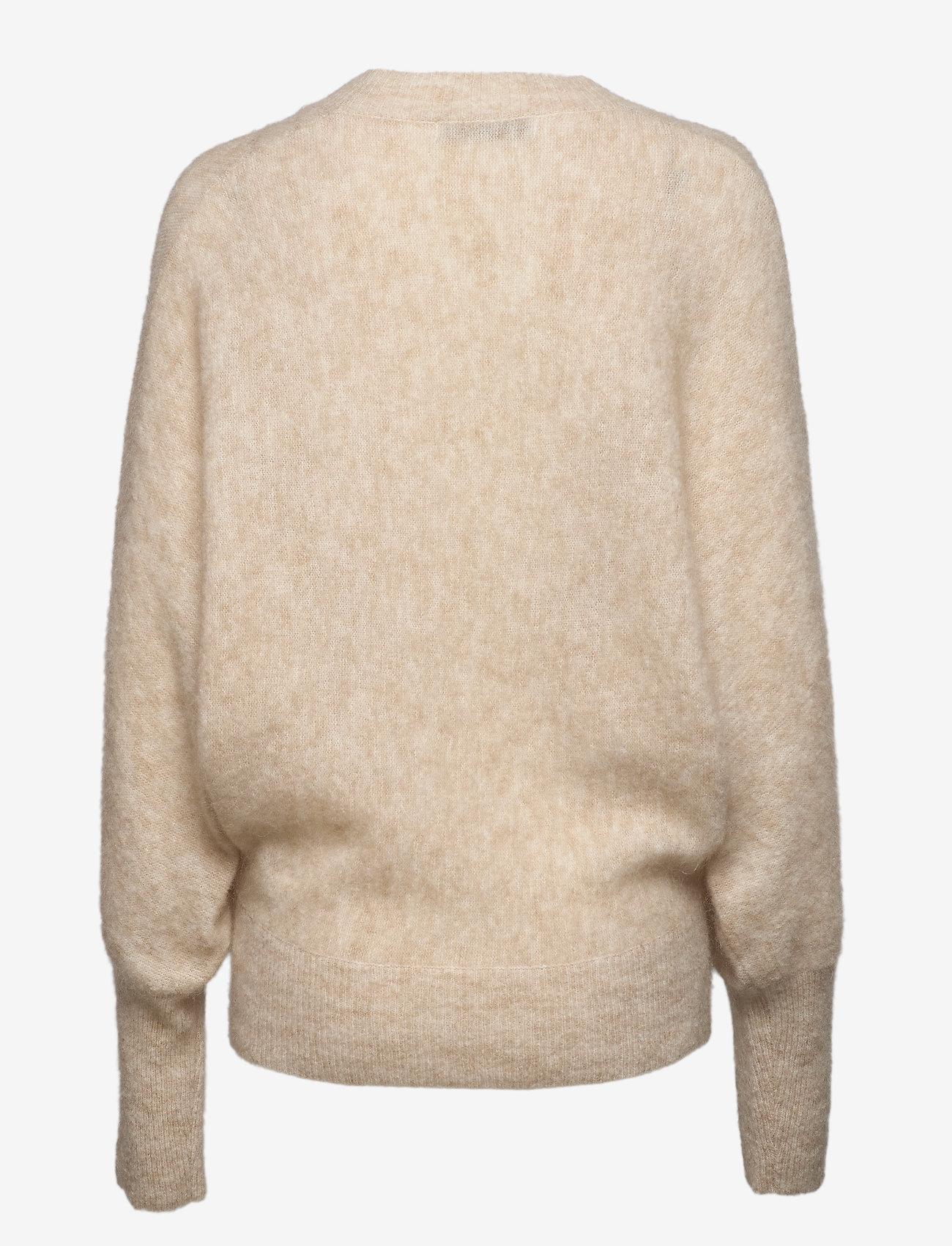 Cathrine Hammel Soft Rounded Sweater - Stickat Faune Melange