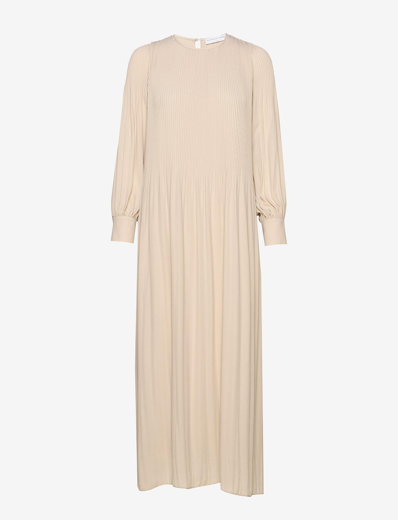 Cathrine Hammel Miami Maxi Dress W/high Cuffs - Klänningar Sand