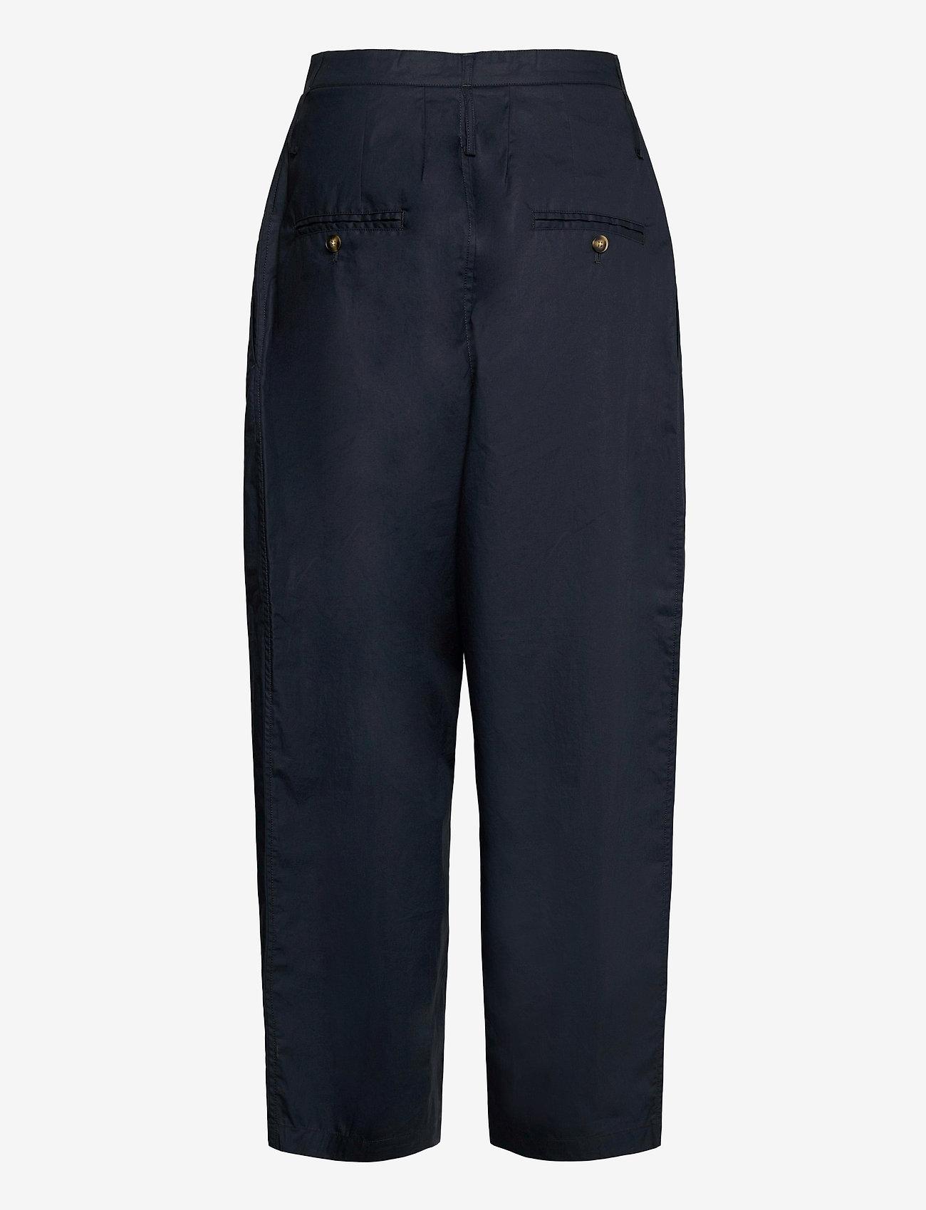 Cathrine Hammel - Wide ov pants - bukser med brede ben - dark ink - 1