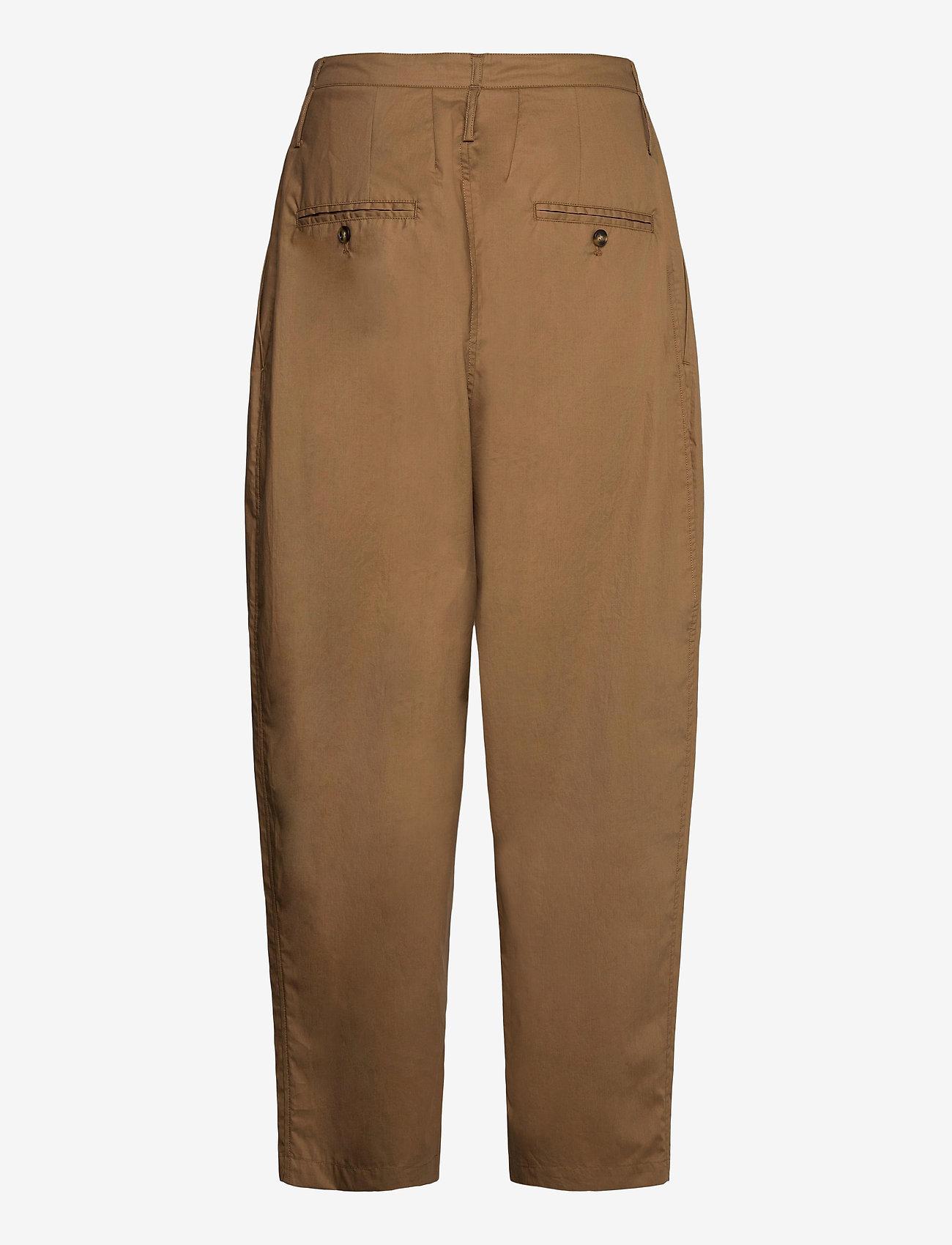 Cathrine Hammel - Wide ov pants - bukser med brede ben - tobacco - 1