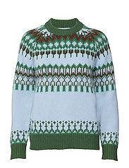 Bonfire sweater - ISLAND BLUE
