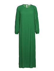 Miami long dress - EMERALD GREEN