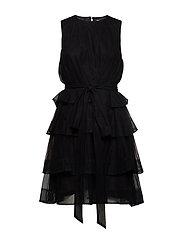 Multiple layers dress - BLACK