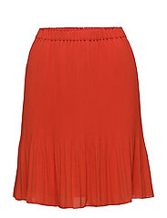 Short miami skirt - HIBISCUS RED