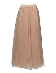 Lg classic tulle skirt - POWDER