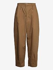 Cathrine Hammel - Wide ov pants - bukser med brede ben - tobacco - 0
