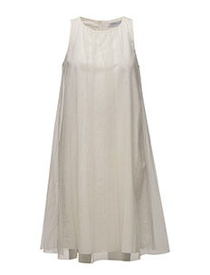 Classic tulle dress - OFF WHITE