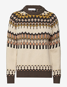 Bonfire sweater - ISLAND CREME