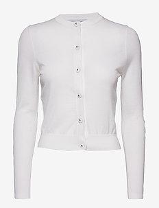 Fine petit cardigan - OFF WHITE