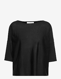 Wide tee - trøjer - summer black