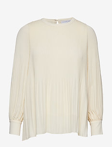 Miami blouse w/high cuffs - OFF WHITE