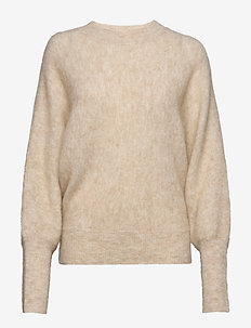 Soft rounded sweater - FAUNE MELANGE