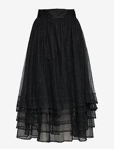 Multiple layers skirt - BLACK