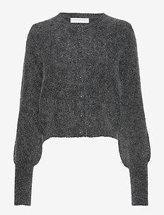 Soft petit cardigan - CHARCOAL MELANGE