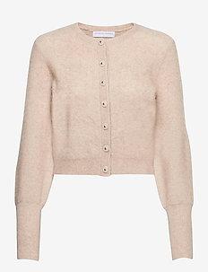 Soft petit cardigan - gilets - warm grey