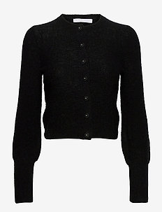 Soft petit cardigan - koftor - black