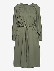 Plain miami dress - midi kjoler - opal green