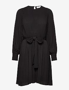 Miami dress w/high cuffs - kort kjoler - black