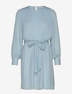 Miami dress w/high cuffs - kort kjoler - light blue