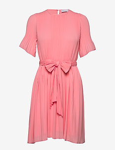 Miami dress w/short sleeves - LIGHT PINK