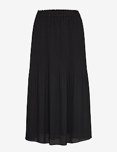 Miami midi skirt - BLACK