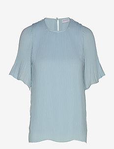 Miami tee-shirt - bluzki z krótkim rękawem - light blue