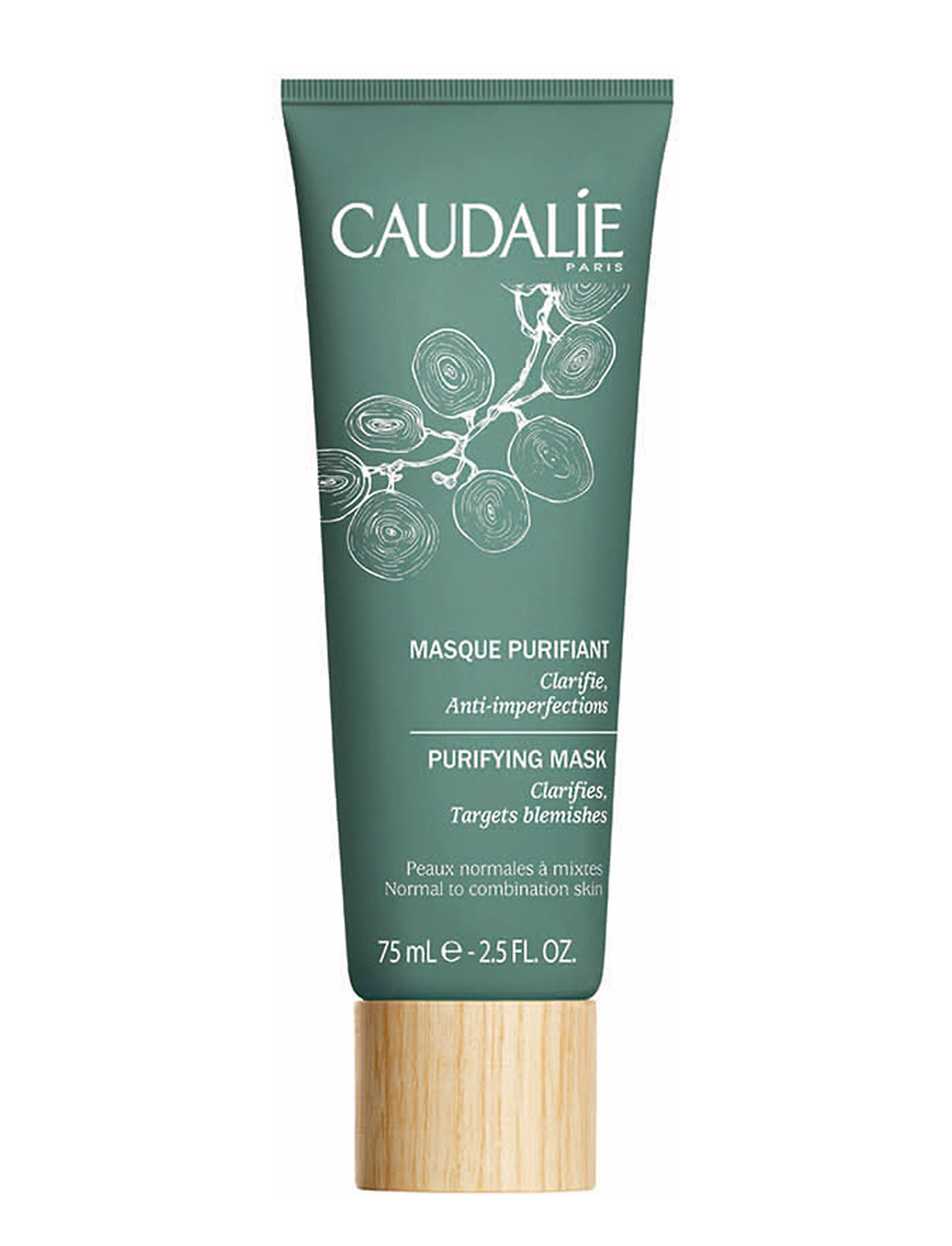 Image of Purifying Mask Beauty WOMEN Skin Care Face Face Masks Nude CAUDALIE (3067526887)
