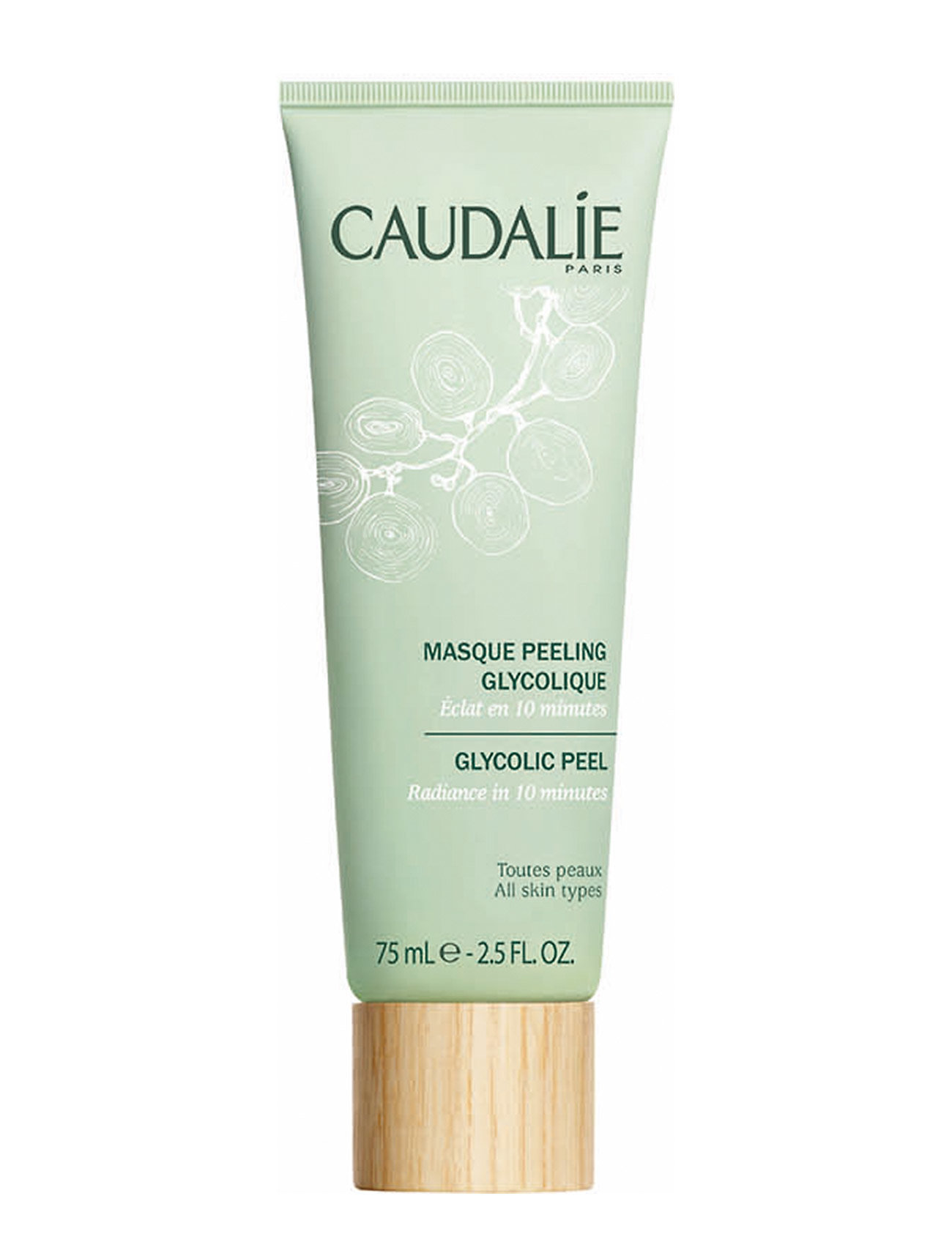 Image of Glycolic Peel Mask Beauty WOMEN Skin Care Face Face Masks Nude CAUDALIE (3350772101)