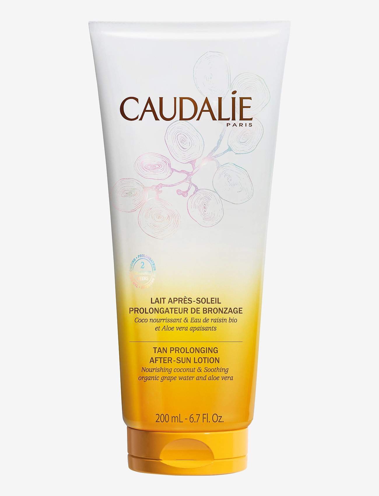 CAUDALIE - Tan-Prolonging After-sun Lotion - aftersun - white - 0