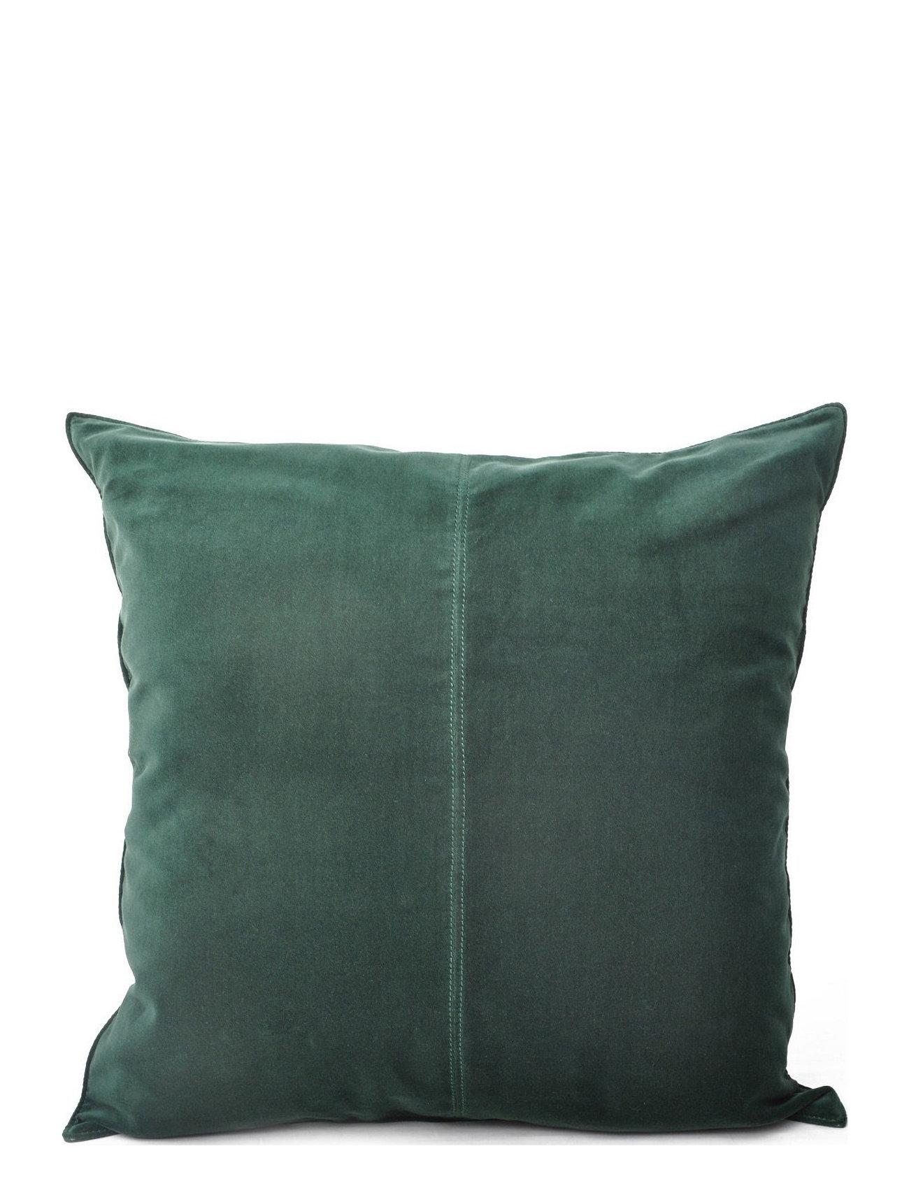 Ceannis - C/c 50x50 Dark Green Velvet - housses de coussins - dark green - 0