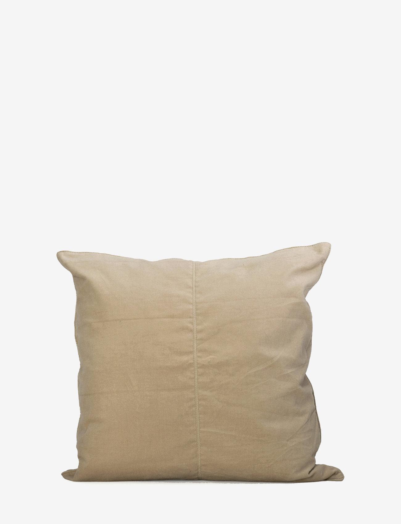 Ceannis - C/c 50x50 Sand Velvet - coussins - sand - 0