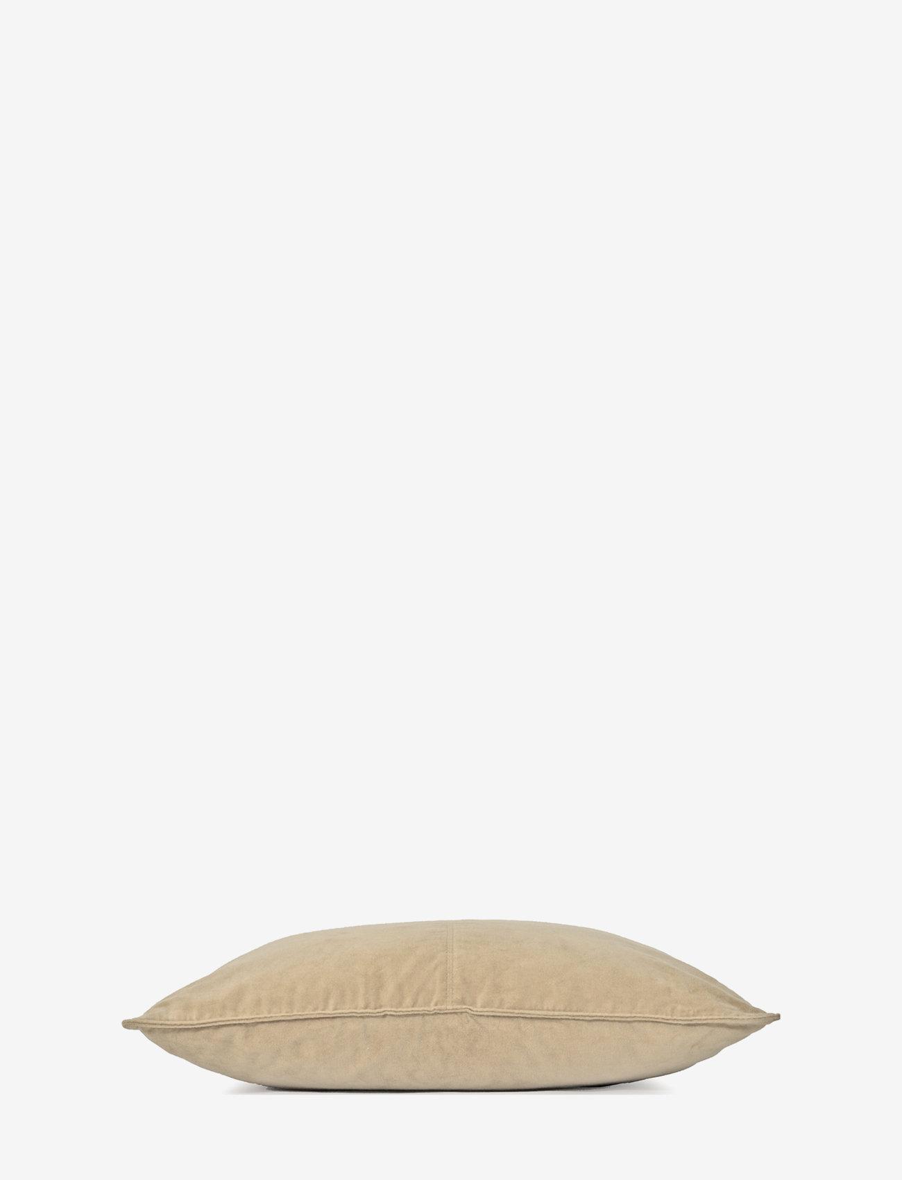 Ceannis - C/c 50x50 Sand Velvet - coussins - sand - 1