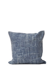 C/c 50x50 Denim Blue Braided Denim Cushion - BLUE