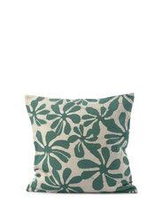C/c 50x50 Green Printed Flower - GREEN