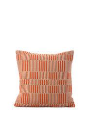 C/c 50x50 Orange Stripe Braided - ORANGE