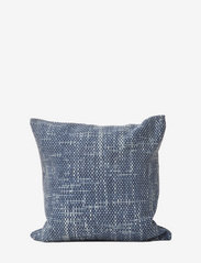 Ceannis - C/c 50x50 Denim Blue Braided Denim Cushion - housses de coussins - blue - 0