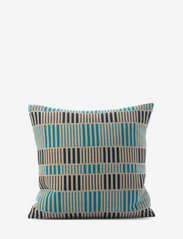 Ceannis - C/c 50x50 Blue Stripe Braided - coussins - blue - 0