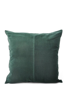 C/c 50x50 Dark Green Velvet - housses de coussins - dark green
