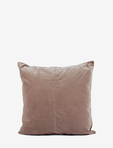 C/c 50x50 Dusty Pink Velvet - cushion covers - pink