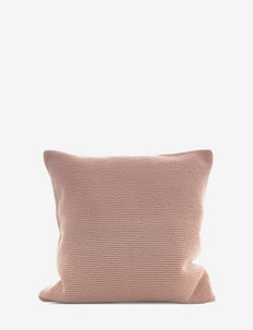 C/c 50x50 Soft Pink Crochet - housses de coussins - pink